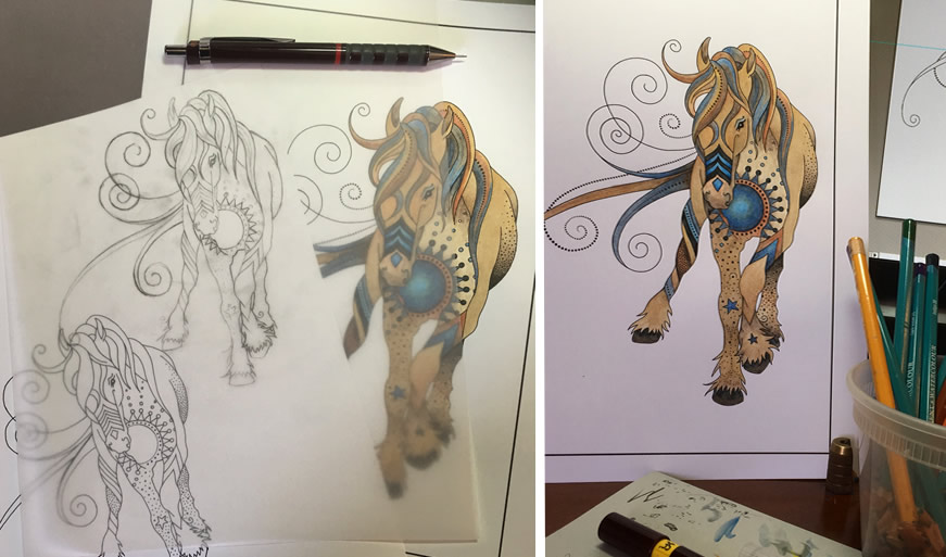 iterations horse